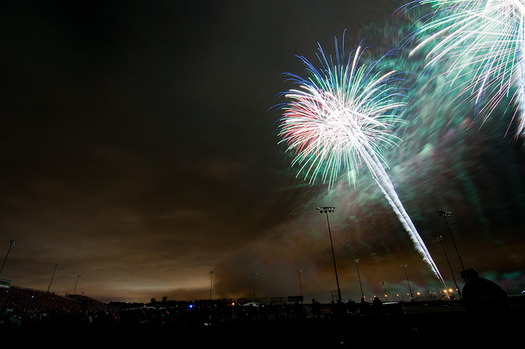 Fireworks are a Fourth of July tradition, but officials caution North Dakotans to be prepared if they're going to take part. (Fargo-Moorhead CVB/Flickr)