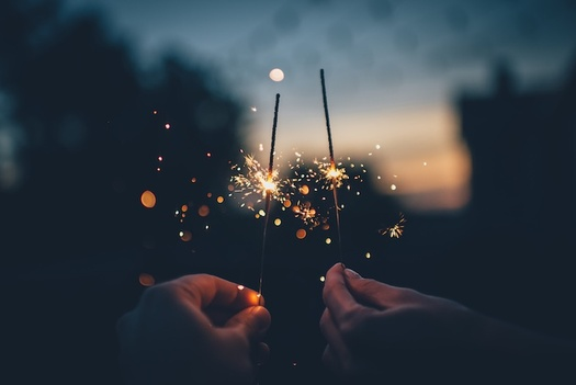 One in five fireworks-related injuries to children is caused by sparklers, which can burn at temperatures of up to 1,800 degrees Fahrenheit. (Ian Schneider)