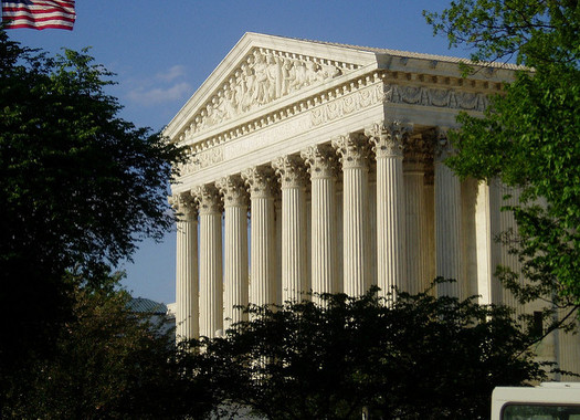 President Donald Trump has vowed to his supporters to nominate justices who oppose abortion to the U.S. Supreme Court. (Matt Wade/Flickr)