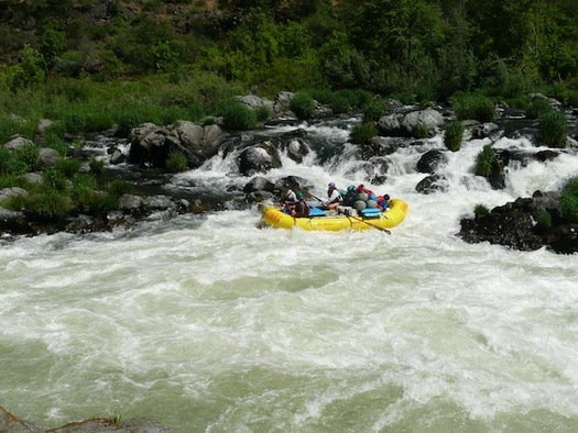 The Rogue River has received more than $13 million in investments from the Land and Water Conservation Fund. (Eric Tegethoff)