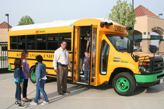 An electric school bus is estimated to save $11,000 in operating costs a year compared to a diesel-powered bus. (c2es.org)