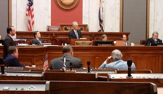 The House Judiciary Committee is expected to hear crucial testimony Thursday relating to the likely impeachment of state Supreme Court Justice Allen Loughry. (Dan Heyman)