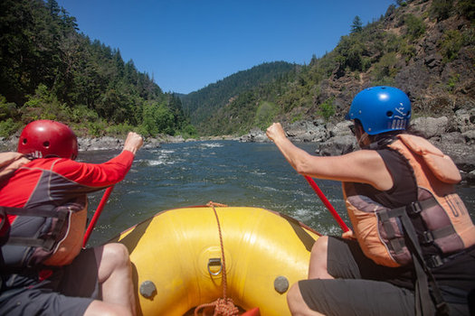 More than 80 miles of the Rogue River are protected under the Wild and Scenic Rivers Act. (Scott Cordner)