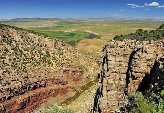 The Land and Water Conservation Fund has been used to increase access for hunting and fishing in places such as Cross Mountain Canyon Ranch in Colorado. (Western Rivers Conservancy)