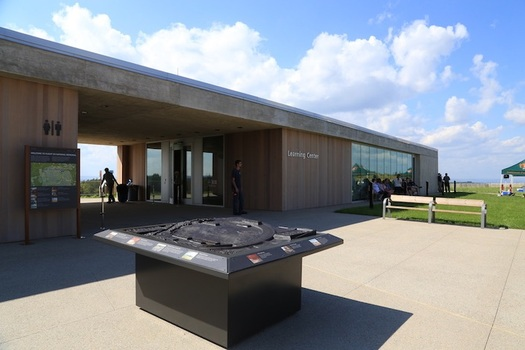 Land and Water Conservation Fund money helped create the Flight 93 National Memorial. (NPS/Brenda Schwartz)