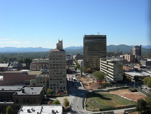 A decrease in fuel-efficiency progress could have a significant impact on cities such as Asheville with a high volume of traffic and large tourism economy. (SelenaNBH/flickr)