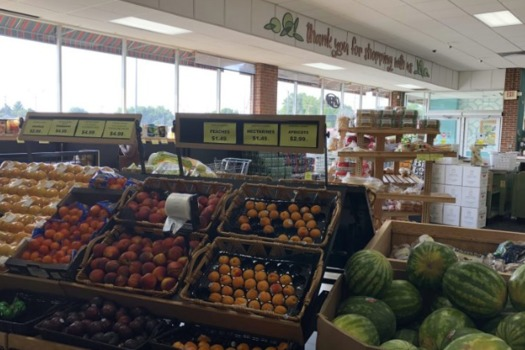 Mediterranean Island International Foods is an immigrant-owned store in Grand Rapids that employs 25 people and offers products from 25 different countries. (MLPP)