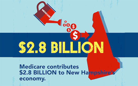 Medicare dollars flow to communities as salaries, rent, taxes and capital investments. (AARP)