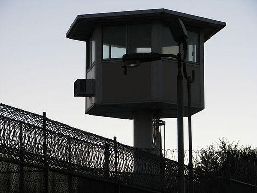 Correctional facilities assign incarcerated people to work as close to a regular day as possible, according to the Prison Policy Initiative. (Rennett Stowe/Wikimedia Commons)