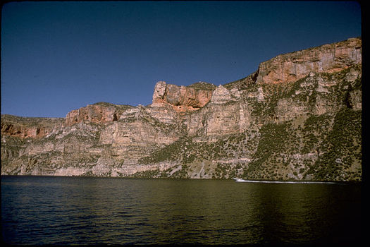 Land and Water Conservation Fund state assistance grants have supported hundreds of projects across Wyoming, including Bighorn Canyon National Recreation Area. (National Park Service)