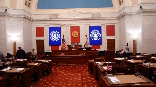West Virginia Supreme Court Justice Robin Davis has resigned, and the decision about whether to impeach the remaining justices is in the hands of the state Senate. (Dan Heyman)