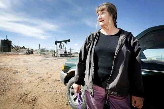 Shirley McNall lives in New Mexico's San Juan Basin, home to the highest concentration of methane pollution the United States. (Moms Clean Air Force)