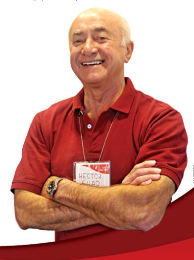 H�ctor Chao ha sido voluntario del �Tax-Aide Program� desde 2004, ayudando a la poblaci�n de California a llenar sus formas de retorno de impuestos. (AARP)