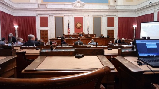 After three investigations and a month of hearings before a House committee, articles of impeachment for all the justices of the West Virginia Supreme Court now go to the House of Delegates. (Dan Heyman)