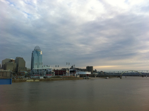 The Ohio River is considered one of the most polluted waterways in the United States. (ChipMahaney/Flickr)