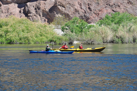 The Land and Water Conservation Fund has helped protect iconic Nevada recreation sites, including Lake Mead. (Lake Mead/Flickr)