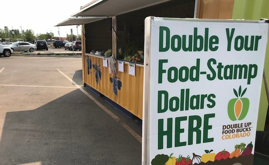 Recipients of SNAP, the program formerly known as food stamps, can double their purchasing power if they buy Colorado-grown produce at participating outlets. (Galatas)