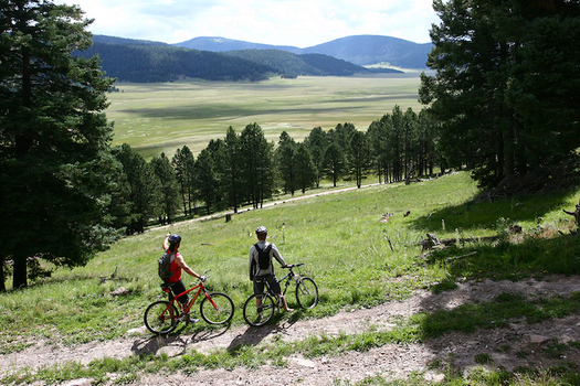 New Mexico's 89,000-acre Valles Caldera National Preserve is home to one of the youngest dormant volcanoes on Earth. (visitlosalamos.org)