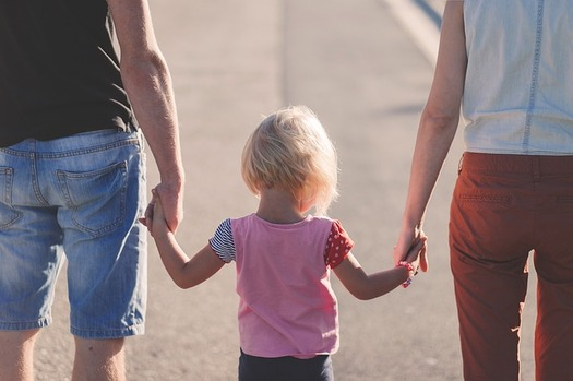 Research shows meaningful relationships with both parents contributes to better outcomes for children. (Pixabay)
