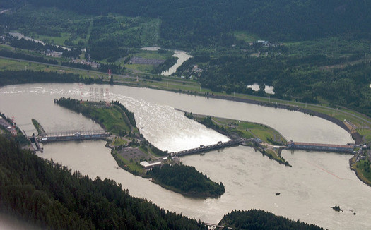 The U.S. and Canada are negotiating hydropower production and flood risk management for cities like Portland along the Columbia River. (Sam Beebe/Flickr)
