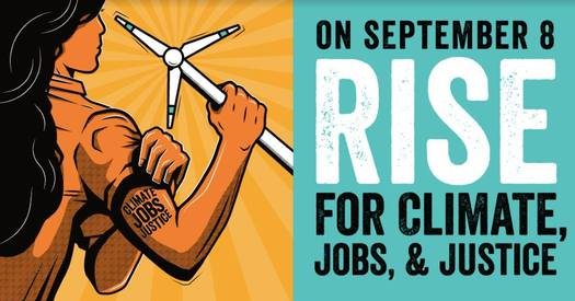 The RISE event Saturday night in Flint will include local performers and a call to action on environmental justice. (People's Climate Movement Michigan)