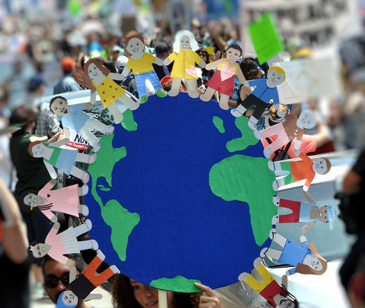 Around the world, local groups are organizing marches for climate change. (Edward Kimmel/Flickr)