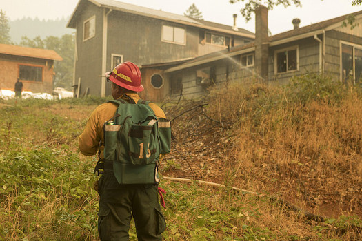 Oregon has had an active wildfire season and thousands of acres continue to burn. (Kari Greer/U.S. Forest Service)