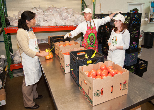 SNAP work requirements could mean the program provides 9 billion fewer meals over the next decade. (Bob Nichols/U.S. Department of Agriculture)