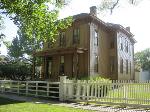 The Lincoln Home National Historic Site needed $7 million in repairs in 2017. (Teemu008/Flickr)