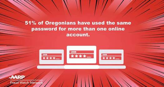 Oregonians can use digital password managers to better protect their online accounts. (AARP Fraud Watch Network)