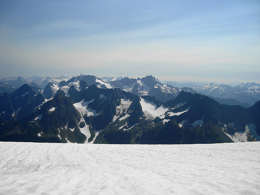 North Cascades National Park has lost half of its glacial coverage over the past 100 years. (samara_breeze/Flickr)