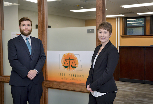 Legal Services of North Dakota's Grand Forks office is helping low-income clients in cases ranging from custody to potential eviction. (University of North Dakota)