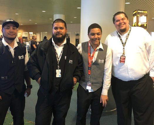 Portland airport workers want the city to join workers in New York and New Jersey, where the minimum wage will increase to $19 an hour. (SEIU Local 49)