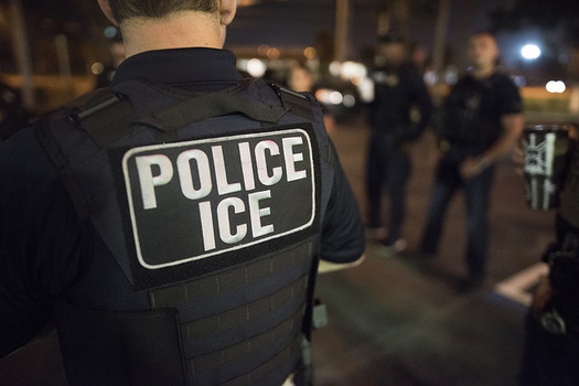 The Center for American Progress reports that people who are concerned about deportations have difficulty connecting with local law enforcement to voice opinions. (ICE/Flickr)