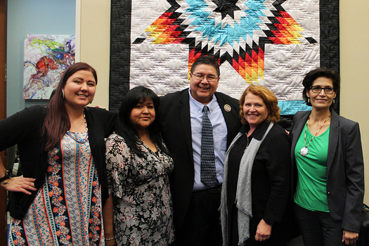 Sen. Heidi Heitkamp, D-N. D., won by fewer than 3,000 votes in 2012 with support from Native American voters. (Heidi Heitkamp/Flickr)