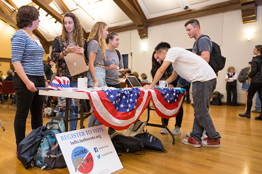 Americans ages 18 to 29 have had the lowest voter turnout rate of any age group in every election since 1986. (now.tufts.edu)