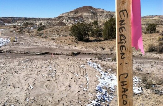 Ninety-one percent of public lands in northwest New Mexico are leased for drilling, with the remaining nine percent in Greater Chaco, where the Bureau of Land Management also wants to allow hydraulic fracking. (sanjuancitizens.org)