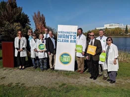 The Washington State Medical Association, the state's largest physicians' organization, is supporting the carbon pollution-fee initiative. (Clean Air Clean Energy WA)
