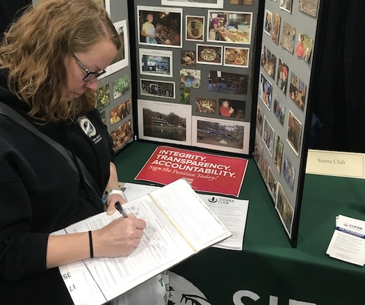 "The ""Clean Missouri"" measure received more than 300,000 signatures to qualify for this year's ballot. (Sierra Club, Missouri Chapter)"