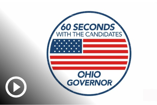 The Ohio candidates for governor, Democrat Richard Cordray and Republican Mike DeWine, talk about issues important to older voters in a video guide online at aarp.org/vote. (AARP Ohio)