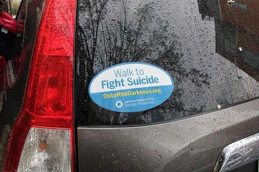 Suicide-related calls to North Dakota's FirstLink hotline increased by 4,000 calls between 2016 and 2017. (Eli Christman/Flickr)