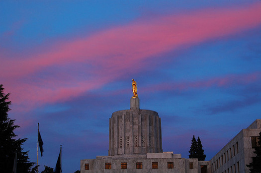 Democrats will hold a supermajority in the Oregon Legislature in 2019. (Edmund Garman/Flickr)