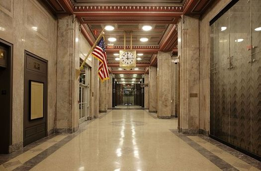 Inside courthouses such as this one in Boston, some are predicting a spike of litigation about the so-called �garden clause� in Massachusetts' new non-compete law. (Carol M. Highsmith/Public Domain Pictures)