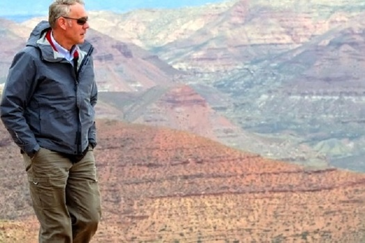Interior Secretary Ryan Zinke visited the Bears Ears National Monument in Utah in May 2017. He later recommended its acreage be reduced by 75 percent. (U.S. Dept. of Interior)
