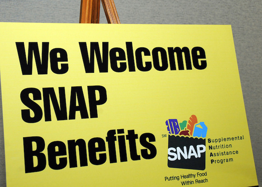 In 2017, SNAP benefits kept 3.4 million Americans out of poverty. (U.S. Dept. of Agriculture/Flickr)