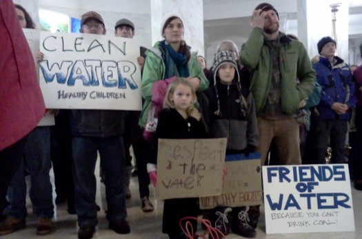 Five years after the Elk River chemical spill prompted public protests, a West Virginia legislative committee has stalled a major update of health and safety related water-pollution rules. (Dan Heyman)