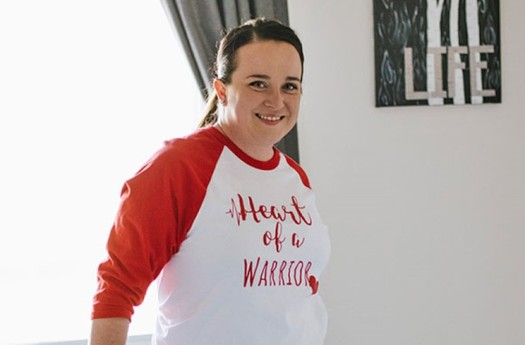 "Kelsey Gumm was in the Navy and working out ""once, even twice a day"" when she found out she had a rare and life-threatening form of heart disease. (Kelsey Gumm/American Heart Association)"
