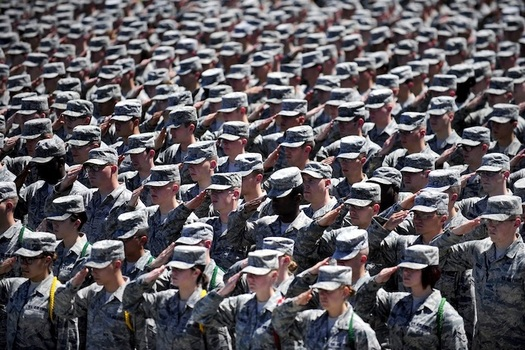 Estimates of the number of transgender personnel in the U.S. military range from a few thousand to 15,500. (pxhere)