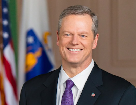 Massachusetts Gov. Charlie Baker's fiscal budget includes additional education spending, but not enough for many education activists. (Mass.gov)