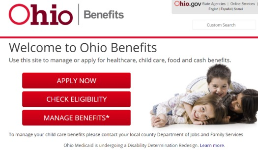 Some policy analysts maintain more transparency is needed about the effectiveness of the Ohio Benefits online portal. (benefits.oh.gov)